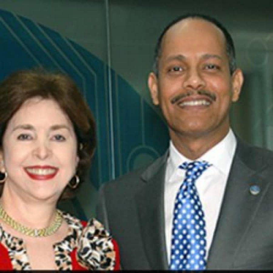 Ex gobernadora de Puerto Rico junto al Ing. Armando García