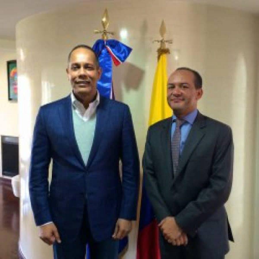Director de la OPTIC y Embajador de RD en Colombia