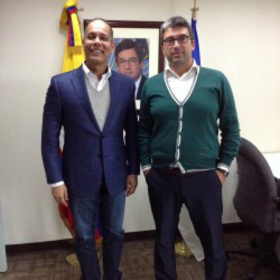 Director de la OPTIC en Embajada de RD en Colombia