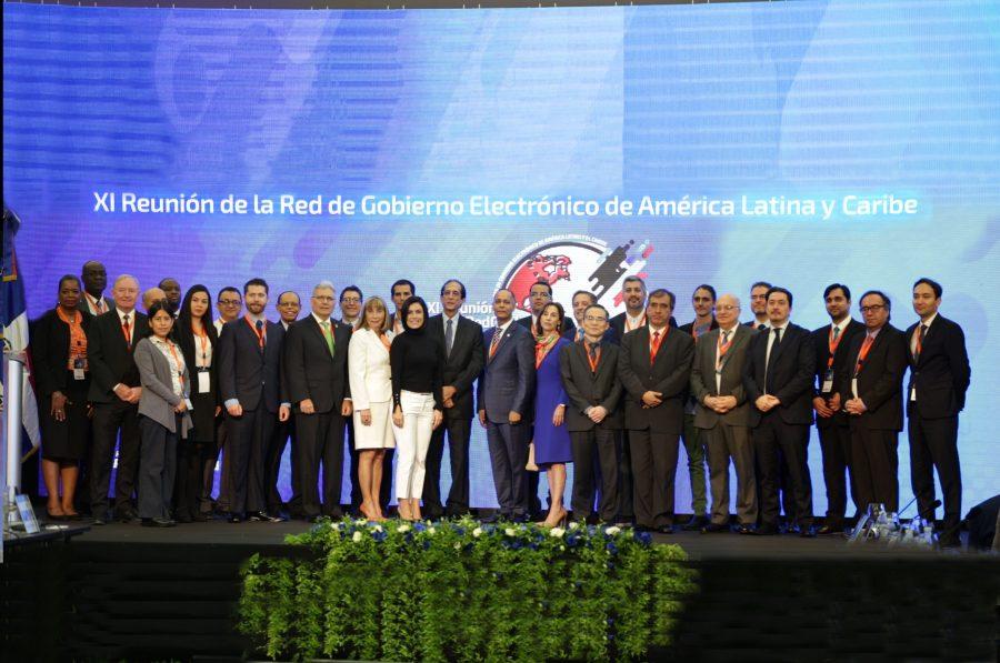 Director de OPTIC junto a líderes de gobierno electrónico de América Latina y el Caribe