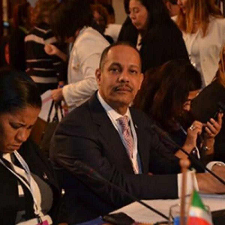 Director de la OPTIC en evento