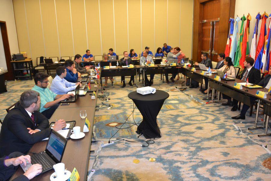 Reunión de software público con miembros de la RED GEALC